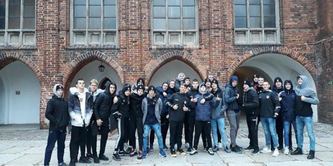 Licealiści w Muzeum Zamkowym w Kwidzynie