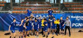 Drużyna SMS Kwidzyn rozegrała zwycięski mecz z KS Szczypiorniak Olsztyn