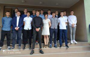 Klasa 1a z wychowawcą p. Oleną Szymańską
